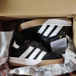 Size 4 baby boy Adidas sambas